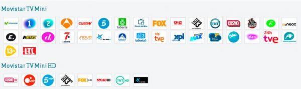 Paquete básico Movistar TV
