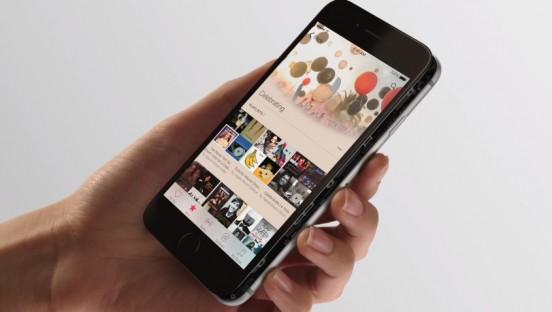 Apple 6. Fuente de imagen: http://www.apple.com/iphone-6s/3d-touch/