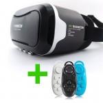 gafas realidad virtual shinecon con mando bluetooth