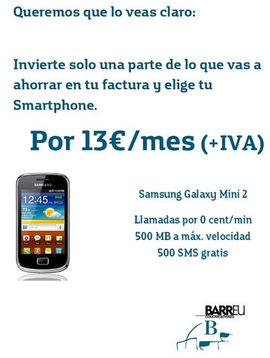 Oferta Samsung Galaxy Mini 2