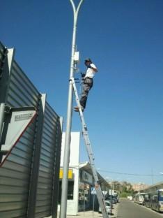 Cámaras de seguridad en los polígonos de Huesca