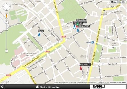Controla tu flota por GPS