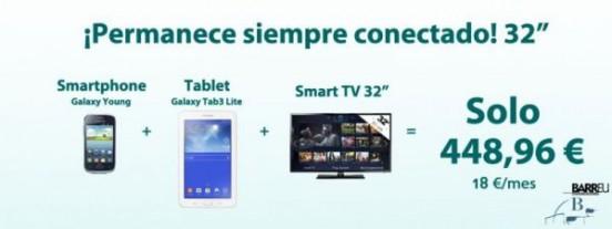 Oferta pack Samsung