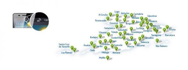 A surfear con el 4G en España