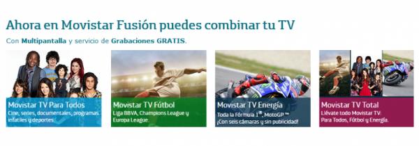 Movistar fusion tv