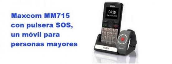 Maxcom MM715 con pulsera de emergencia