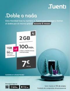 ¡Ven a .Tuenti y llévate 100 min y 2GB por 7€/mes!