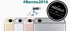 Concurso Iphone6s con #Barreu2016