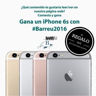 Concurso Iphone6s con #Barreu2016