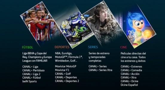 Paquete Premium de Movistar TV, no te pierdas nada