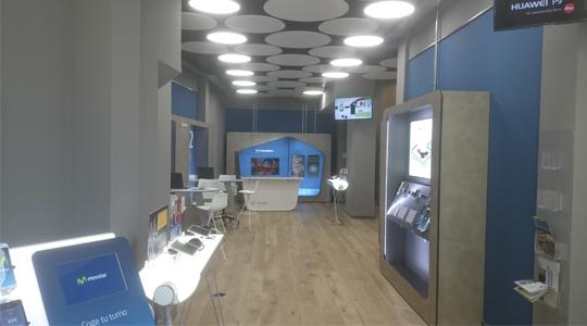 Apertura de nueva Tienda Movistar Barreu en Huesca