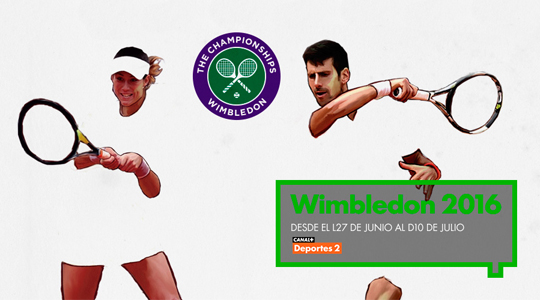 Wimbledon en directo y en exclusiva en Movistar+