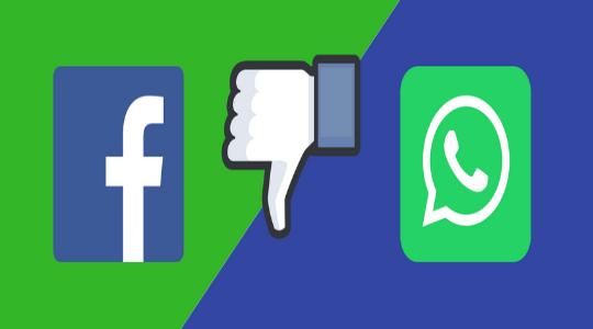 Evita compartir tus datos de WhatsApp con Facebook