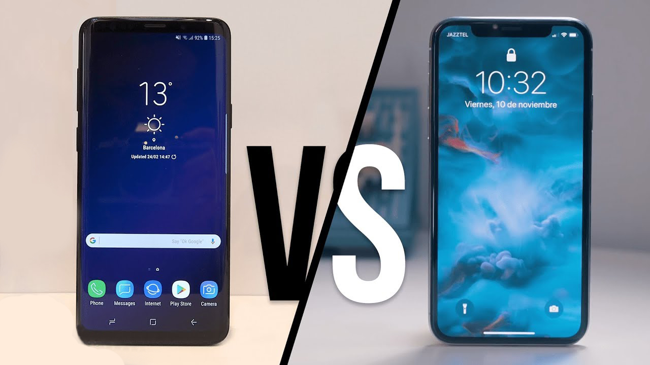 GALAXY S9/S9+ VS IPHONE X