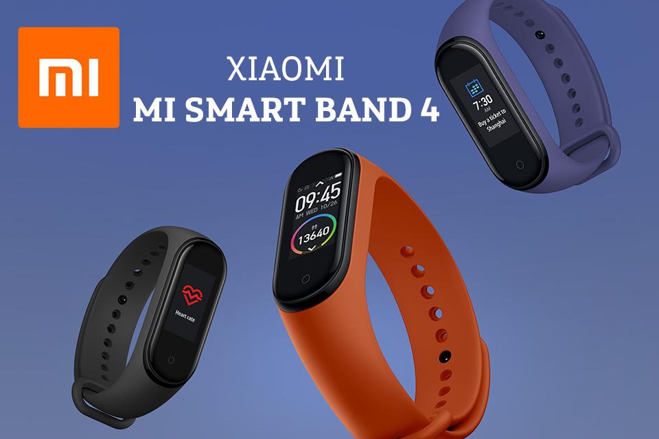 Xiaomi Mi Smart Band 4: la pulsera de actividad de Xiaomi más avanzada y a color