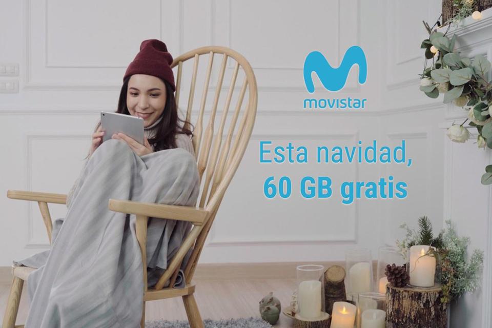 Movistar te regala 60GB gratis los próximos dos meses