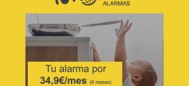 ¡PROTEGE TU HOGAR POR SOLO 34,9€ AL MES! con Movistar Prosegur Alarmas