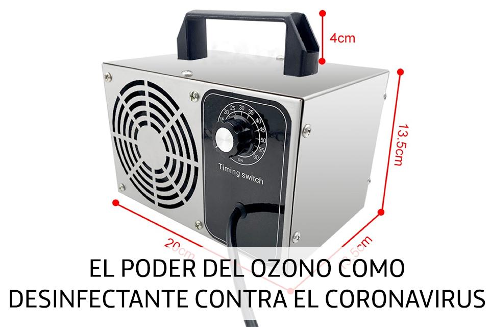 El poder del ozono como desinfectante contra el coronavirus